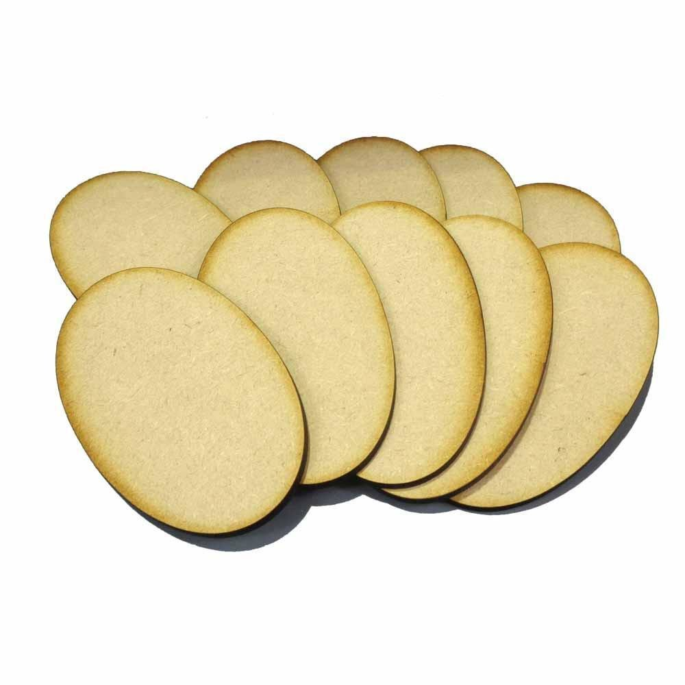 90mm x 52mm Oval Bases - MDF BR90Oval
