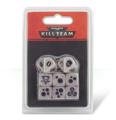 KILL TEAM: GELLERPOX INFECTED DICE Würfel - Warhammer 40K - Games Workshop