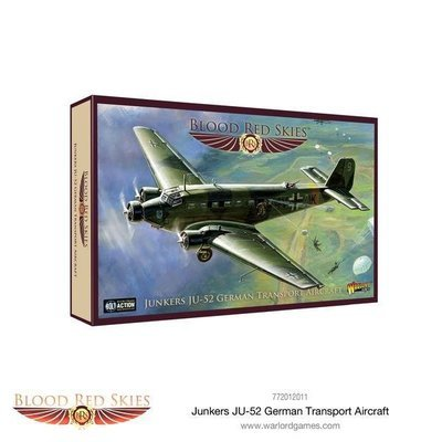 Junkers JU-52 A German Transport Aircraft - Blood Red Skies - Warlord Games