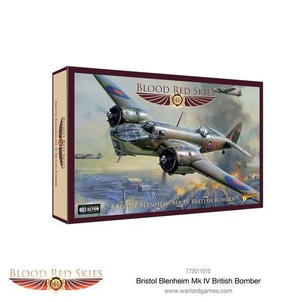 Bristol Blenheim Mk IV British Bomber - Blood Red Skies - Warlord Games