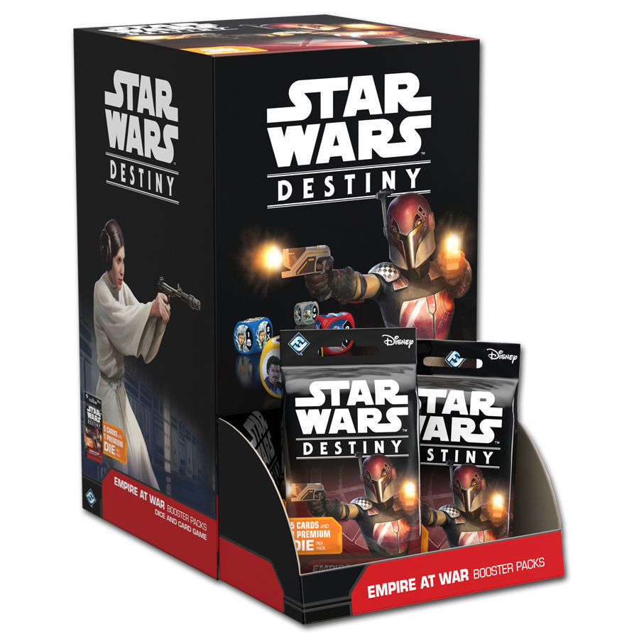 Star Wars: Destiny - Geist der Rebellion Booster (36)-Display DEUTSCH 4015566024748-imp