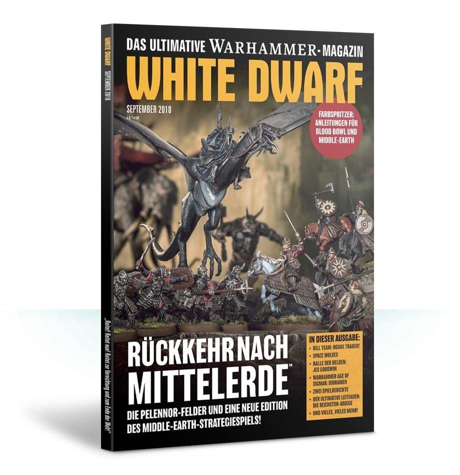 White Dwarf September 2018 (Deutsch) - Games Workshop whitedwarf-2018-9
