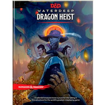 D&D Dungeons&Dragons - Waterdeep Dragon Heist Book - EN WTCC46580000