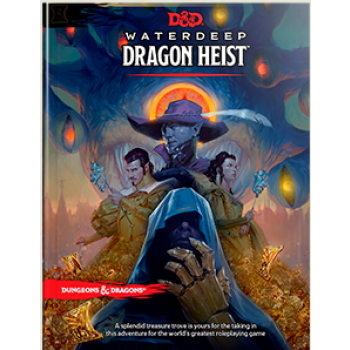 D&D Dungeons&Dragons - Waterdeep Dragon Heist Book - EN