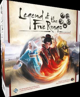 L5R: Legend of the 5 Rings: LCG - Grundspiel • DEUTSCH - Asmodee