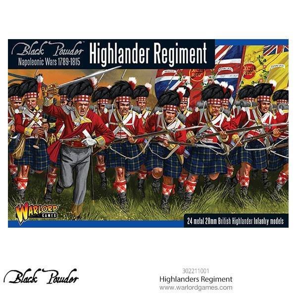 Highlanders Regiment - Black Powder - Warlord Games