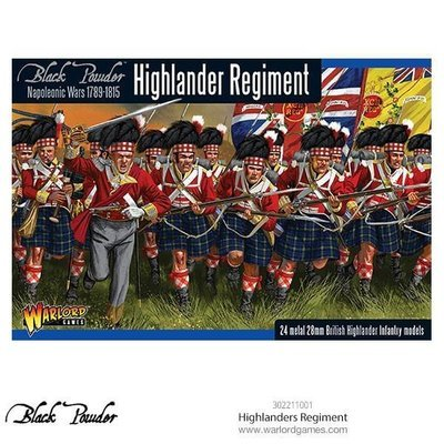 Highlanders Regiment - Black Powder - Warlord Games