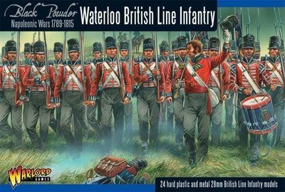 Napoleonic British Line Infantry (Waterloo campaign) - Black Powder - Warlord Games