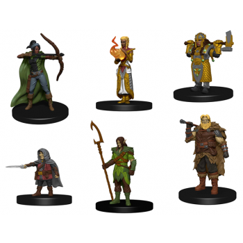 D&D Dungeons and Dragons Icons of the Realms: Classic Creatures Box Set Heroes WZK72778