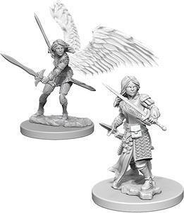 D&D Nolzur's Marvelous Miniatures - Aasimar Female Paladin WZK73343