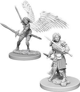 D&D Nolzur's Marvelous Miniatures - Aasimar Female Paladin