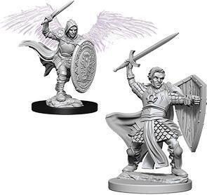 D&D Nolzur's Marvelous Miniatures - Aasimar Male Paladin WZK73342
