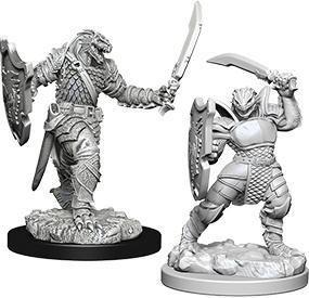 D&D Nolzur's Marvelous Miniatures - Dragonborn Female Paladin WZK73341