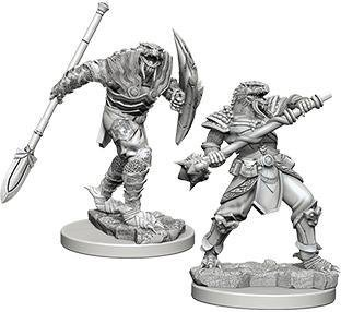 D&D Nolzur's Marvelous Miniatures - Dragonborn Male Fighter with Spear WZK73340