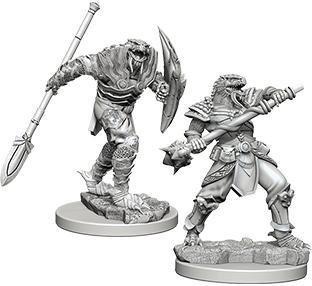 D&D Nolzur's Marvelous Miniatures - Dragonborn Male Fighter with Spear