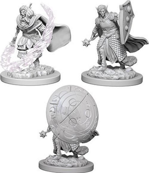 D&D Nolzur's Marvelous Miniatures - Elf Male Cleric WZK73205
