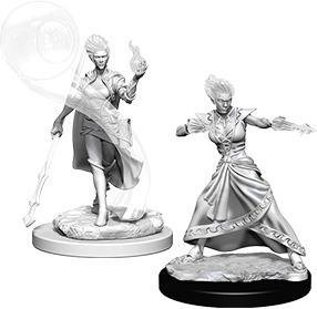 D&D Nolzur's Marvelous Miniatures - Fire Genasi Female Wizard WZK73336