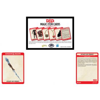Dungeons & Dragons - D&D Magic Item Card Deck (292 cards) - EN 9780786966707