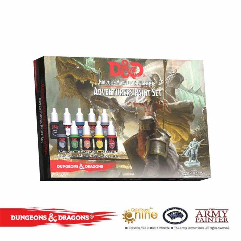 Dungeons & Dragons - D&D Nolzur's Marvelous Pigments - Adventurers Paint Set