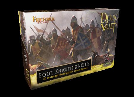 Foot Knights XI-XIIIc. - Deus Vult - Fireforge Games FFG015