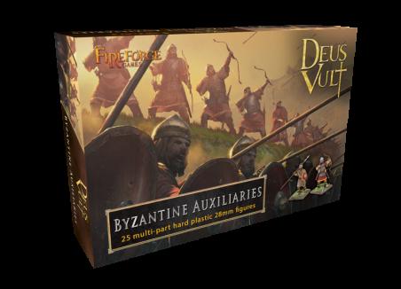 Byzantine Auxiliaries (25) - Deus Vult - Fireforge Games FFG016