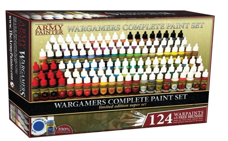 Warpaints Complete Wargamers Paint Set 2018 (limitiert) - Army Painter Warpaints AP-WP8022-124lim