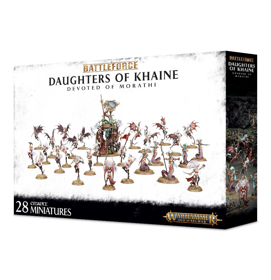 Battleforce: Daughters of Khaine Devoted of Morathi - Warhammer 40.000 - Games Workshop