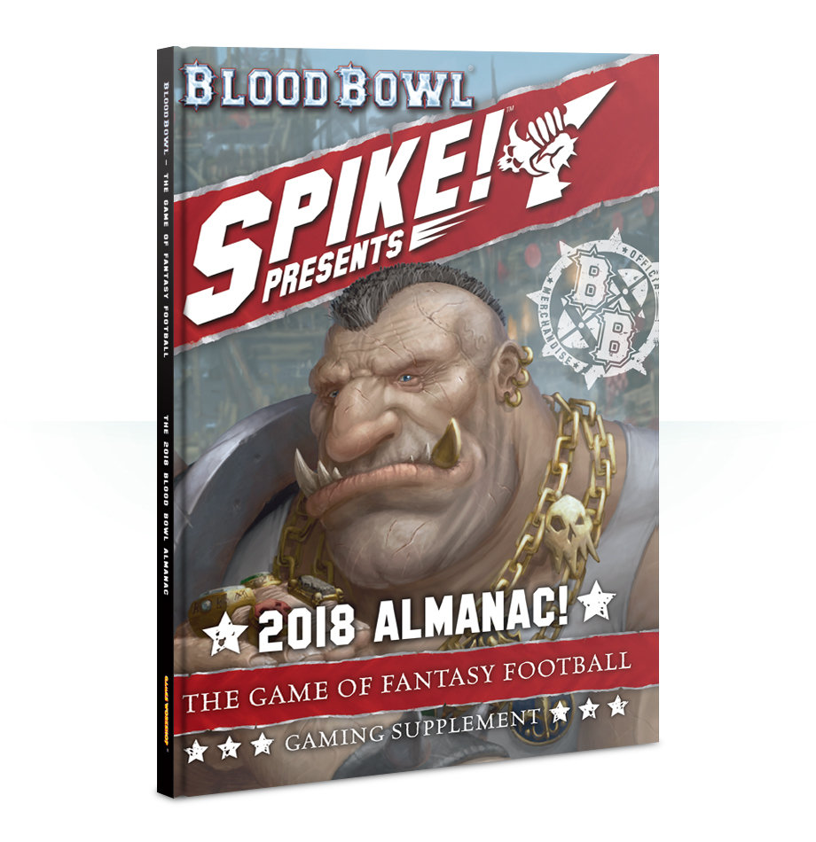 The 2018 Blood Bowl Almanac (Englisch) - Games Workshop 60040999008e