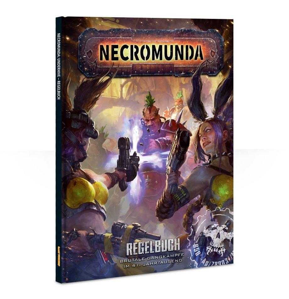 Necromunda: Rulebook (Englisch) - Games Workshop 60040599017