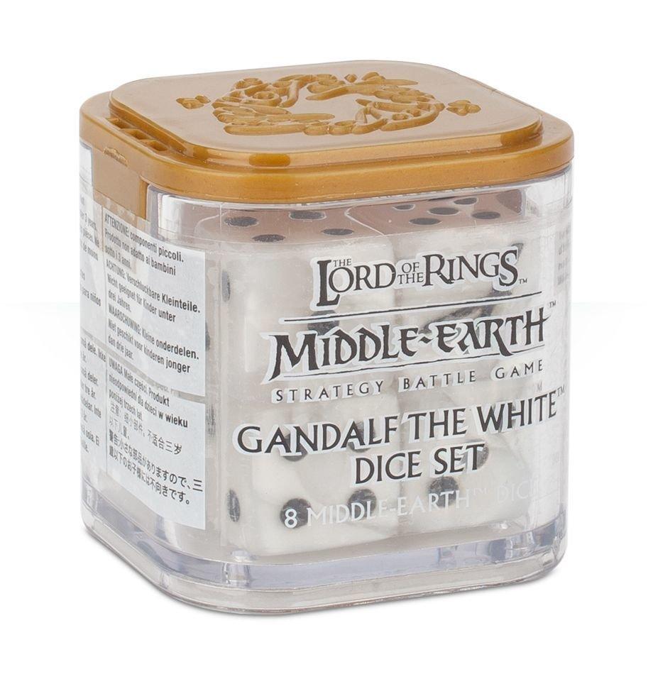Würfel für Gandalf™ den Weißen Dice - Lord of the Rings - Games Workshop 99221499015x