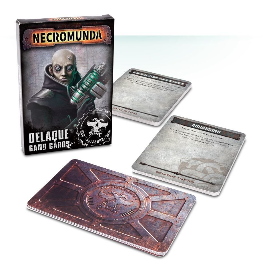 Delaque Gang Cards (Englisch) - Games Workshop 60220599008