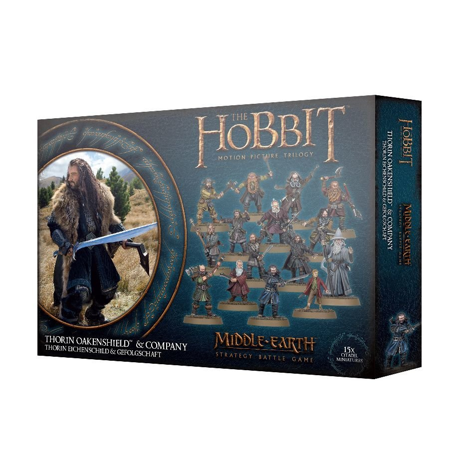 Thorin Eichenschild™ und Gefolgschaft - Lord of the Rings - Games Workshop 99121499039