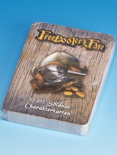 FF033 Söldner Charakterkarten #2 - Freebooter's Fate FF033