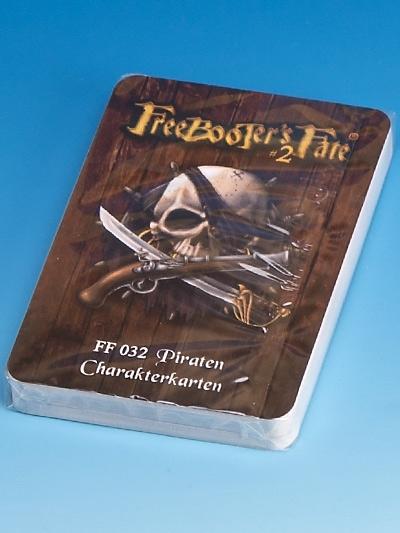 FF032 Piraten Charakterkarten #2 - Freebooter's Fate FF032