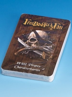 FF032 Piraten Charakterkarten #2 - Freebooter's Fate