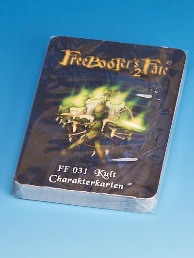 FF031 Kult Charakterkarten #2 - Freebooter's Fate FF031