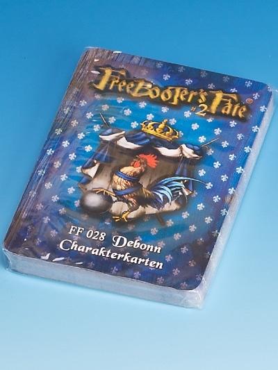 FF 028 Debonn Charakterkarten #2 - Freebooter's Fate FF028