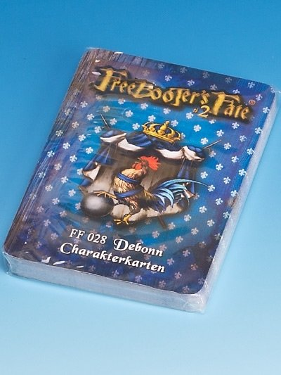 FF 028 Debonn Charakterkarten #2 - Freebooter's Fate
