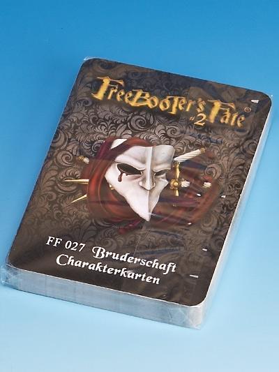 FF 027 Bruderschaft Charakterkarten #2 - Freebooter's Fate FF027