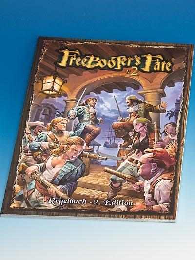 FF 023 Grundregelbuch #2,D Regelbuch - Freebooter's Fate FF023