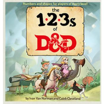 D&D Dungeons&Dragons - 123s of D&D - EN WTCC61180000