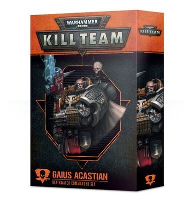 Kill Team: Gaius Acastian Kommandeur-Set der Deathwatch - Games Workshop