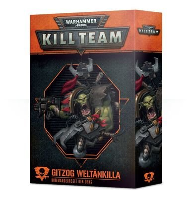 Kill Team: Gitzog Weltänkilla Kommandeur-Set für Orks - Games Workshop