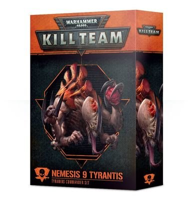 Kill Team: Nemesis 9 Tyrantis Kommandeur-Set für Tyranids - Games Workshop