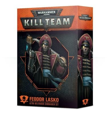 Kill Team: Feodor Lasko Kommandeur-Set des Astra Militarum - Games Workshop