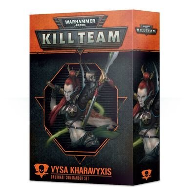 Kill Team: Vysa Kharavyxis Kommandeur-Set der Drukhari - Games Workshop