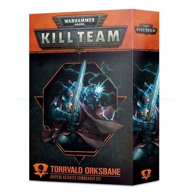 Kill Team: Torrvald Orkfluch Kommandeur-Set für Adeptus Astartes - Games Workshop