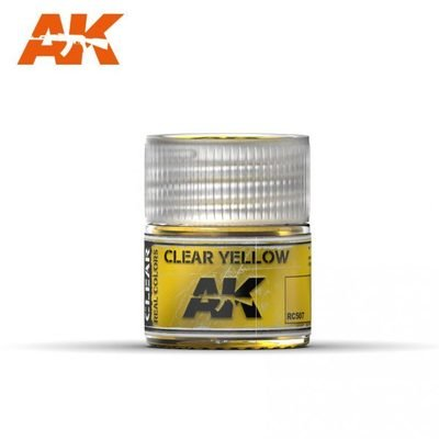 Clear Yellow - Real Colors - AK Interactive