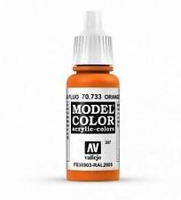 Model Color 207 Orange Fluorescent  - Vallejo - Farben