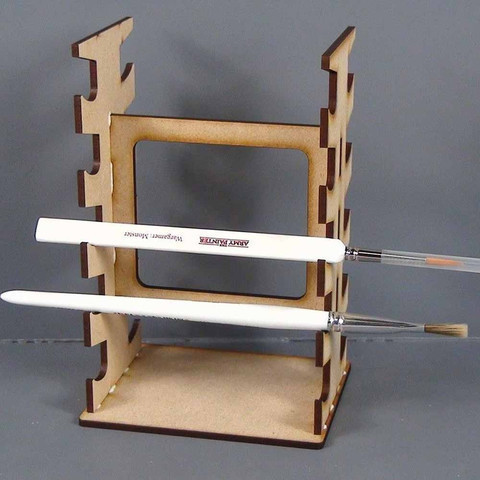 Paint Brush Rack - Pinselhalter - TTCombat - Kingsley